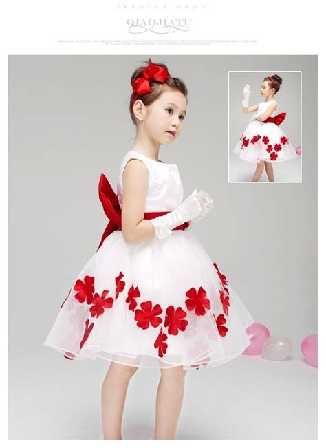 Jaqueer Organza Dress Import Ld4134 01 White Dress s white and petal princess flower dress flowergirl dresses for weddings
