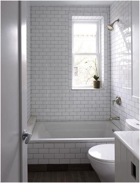 bathroom contemporary  york bathroom window dark floor gray grout house plants shower tile