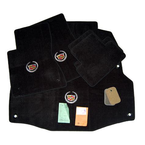 Cadillac Dts Floor Mats by Cadillac Dhs Dts Floor Mats Trunk Mat Set Black
