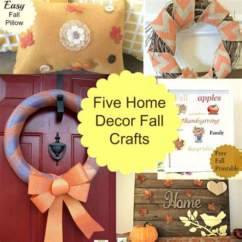 home decor mom blogs 5 home decor fall crafts