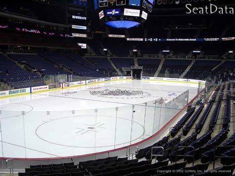 nationwide arena section 107 columbus blue jackets