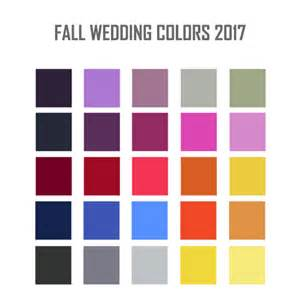 fall colors 2017 stylish fall wedding colors 2017 wedding spell for
