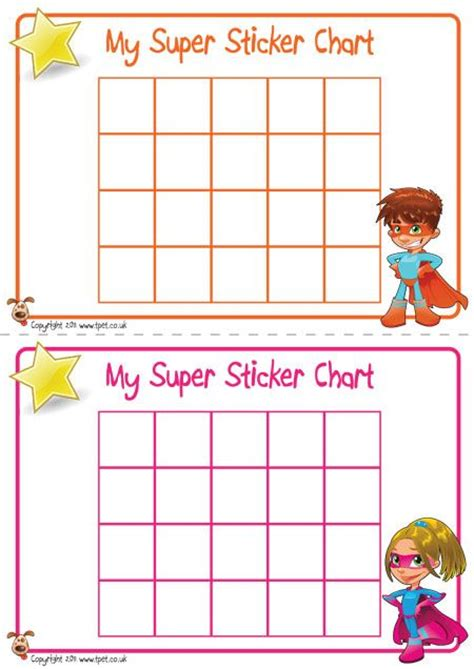 printable behavior stickers teacher s pet displays 187 superhero sticker charts 187 free