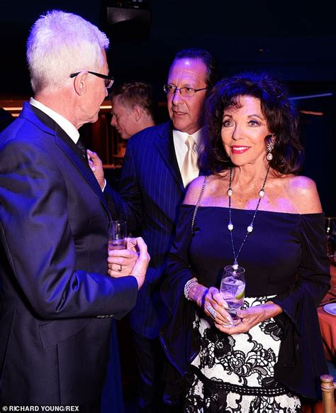 Joan Collins 86 Enjoys Glitzy Night Out With Husband