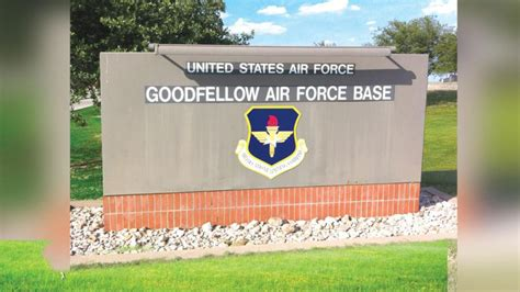 goodfellow afb grant creates new projects protects base