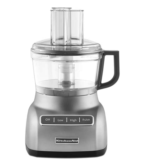 Kitchen Aid Silver by Kitchenaid 174 7cup Food Processor Kfp0711cu Contour Silver