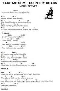 take me home country roads piano vocal sheet