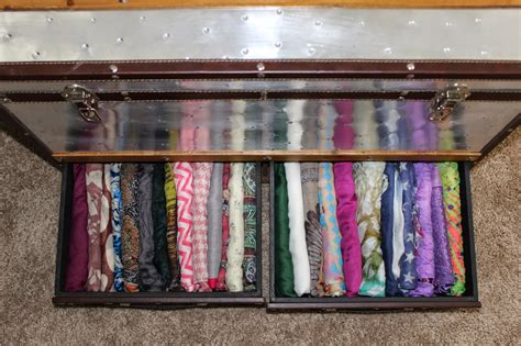 Scarf Drawer Organizer by Updated Storage Scarf Storage And