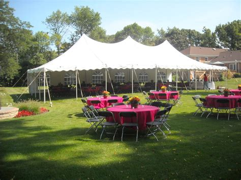 backyard rentals ideas for a summer tent event indestructo tent rental inc