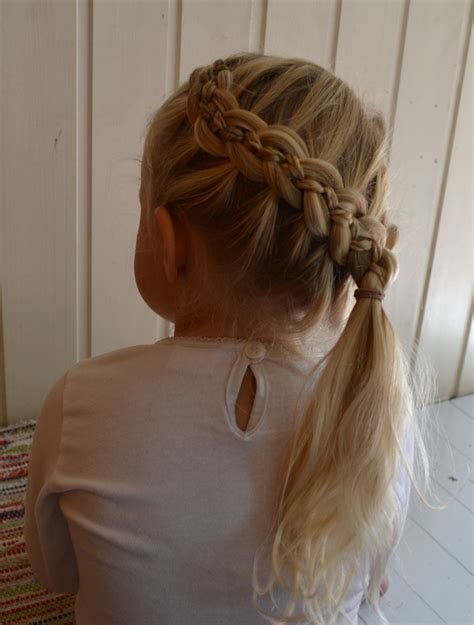 5 strand french braid five strand braid jennishairdays