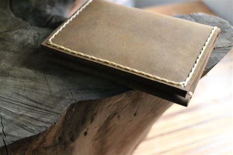 Mens Handmade Leather Wallets - mens custom leather wallets leather wallet leather credit