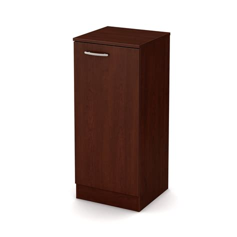 narrow storage cabinet south shore axess narrow storage cabinet royal cherry