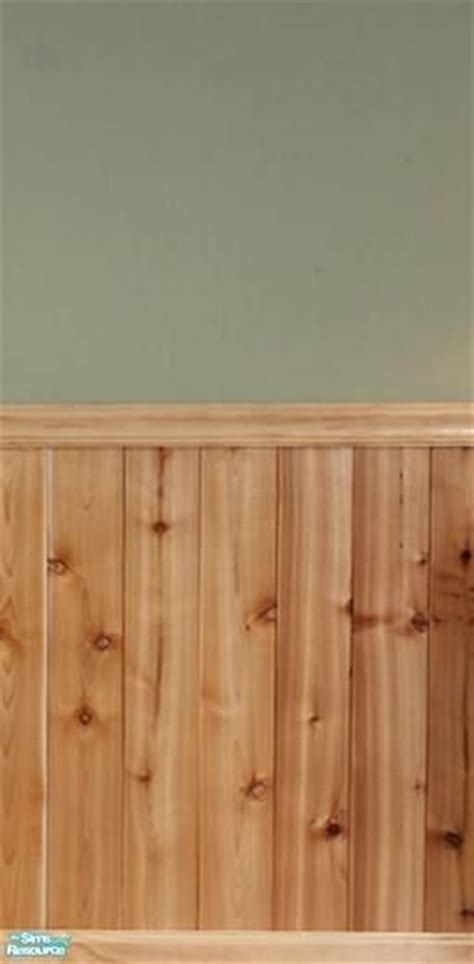 fluffyauntydi s knotty pine half wall paneling this of paneling color green and a border