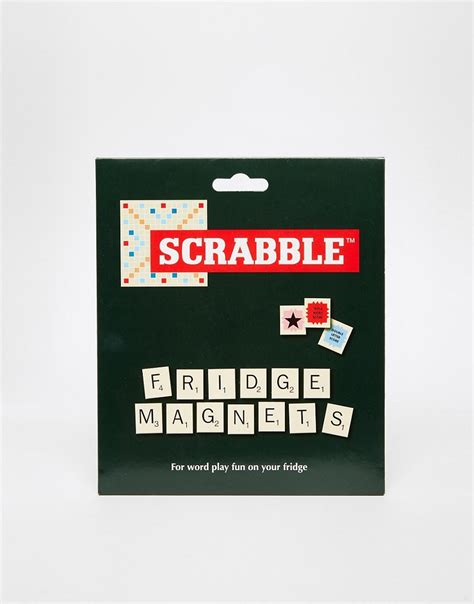 scrabble magnets gifts scrabble fridge magnets at asos