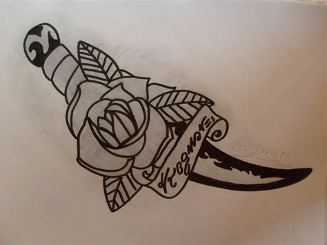knife tattoo designs 35 knife and dagger designs