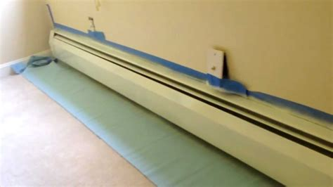 Kitchen Radiator Ideas by How To Paint Old Rusted Heater Covers Youtube