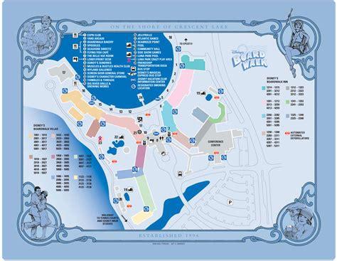 dvc map disney s boardwalk map