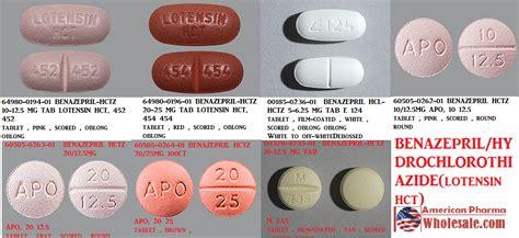 benazepril hctz 5 6 25mg tab 100 by sandoz pharma