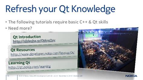 qt nokia tutorial nfc development with qt v2 2 0 5 november 2012