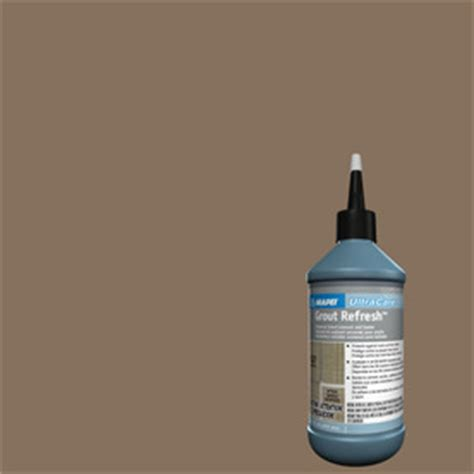 shop mapei ultracare grout refresh mocha liquid grout at lowes com