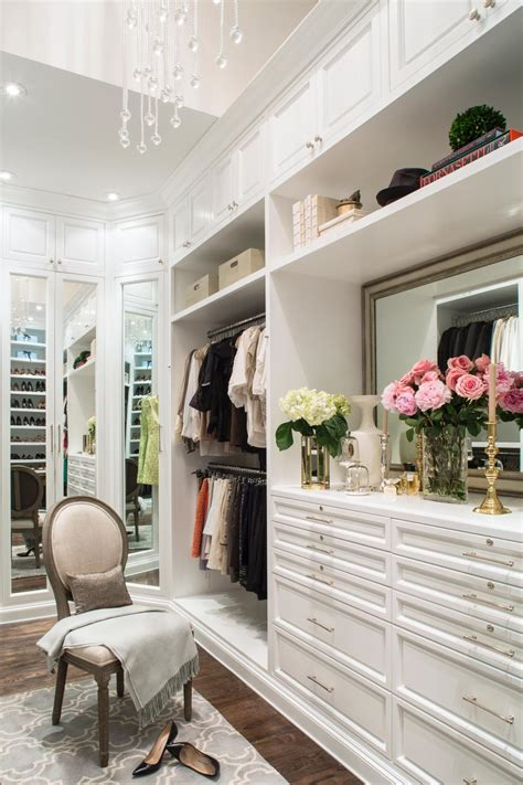 design dream closet luxurious master closet lisa adams hgtv