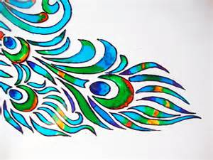 Glass Painting Outline Patterns by Glass Painting Tutorial M De By Lakshmi