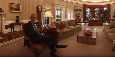 obama white house tour barack obama f 252 hrt durch das wei 223 e haus in vollen 360 grad