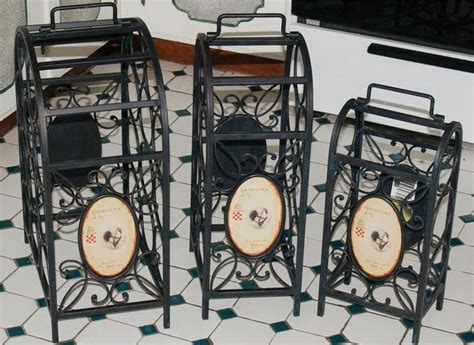 Wine Racks Wrought Iron Floor Standing by 25 Best Ideas About Wrought Iron Wine Racks On