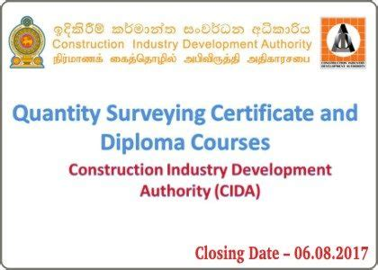 Surveying And Geoinformatics Course Outline by Postgraduate Degree Programmes 2017 Of Kelaniya Sri Lankan Government Documents