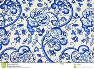 Traditional Upholstery Fabric Jacobean Patterned Fabric Stock Photo Image 47623866