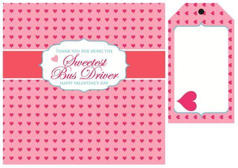 printable valentine tags for teachers teacher bus driver free valentine printables valentine