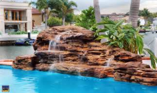 pool fountains and waterfalls rock swimming pool pond waterfalls waterfall poolgrottowaterfallcave com swimming pool