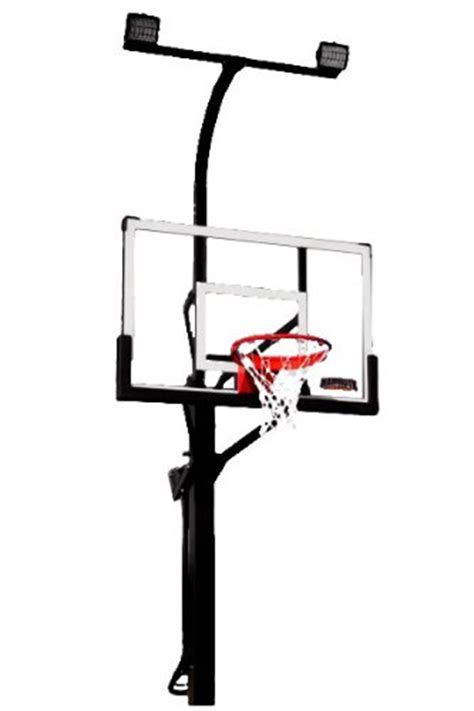 mammoth basketball hoop court light discount basketball