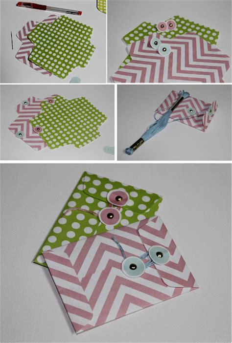 Handmade Envelope Designs - diy how to make trendy envelopes for handmade