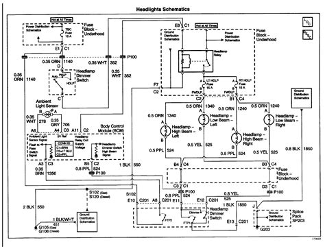 05 silverado headlight wiring diagram wiring diagram