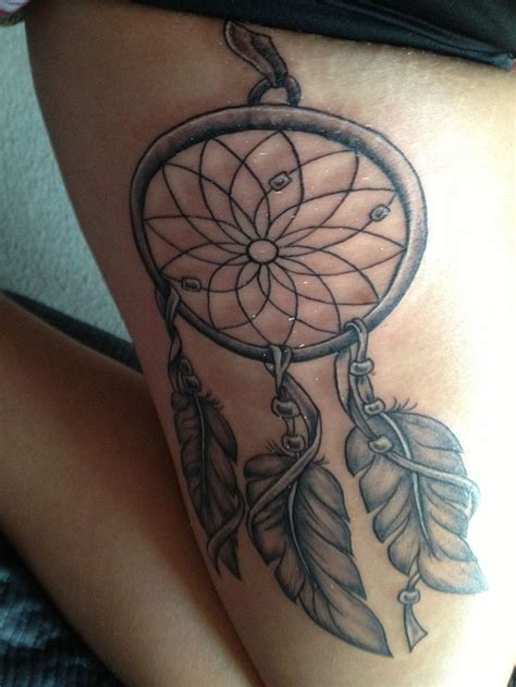 dreamcatcher tattoo placement dreamcatcher tattoo tattoos piercings pinterest