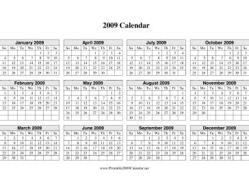 printable calendar horizontal printable 2016 calendar on one page horizontal calendar