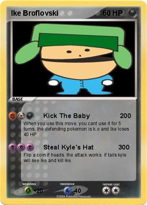 pok 233 mon ike broflovski kick the baby 200 my card