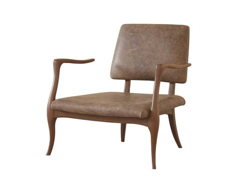 Kaos Brown Arm l officina mister modern designer walnut arm chair