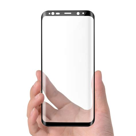 Tempered Glass 3d Samsung Galaxy S8 black tempered glass screen protector samsung galaxy s8 plus
