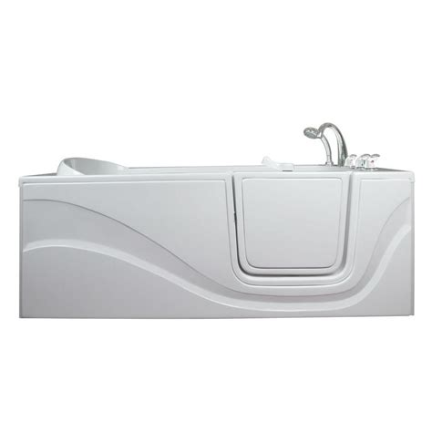 lay down walk in bathtub ella lay down 5 ft x 30 in walk in air massage bathtub