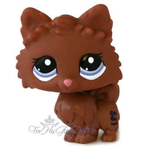 pomeranian shop littlest pet shop 2449 chocolate brown pomeranian puppy wolf pe