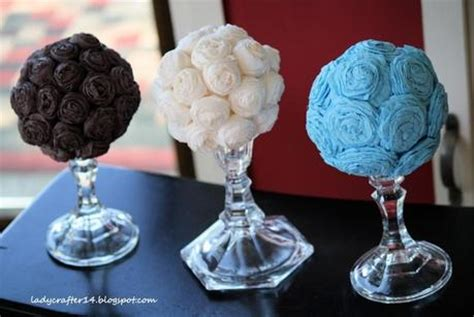How To Make Crepe Paper Flower Balls - 25 smart ways to save money on your wedding diy