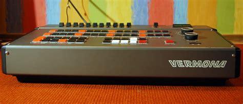 matrixsynth vermona drm rare vintage analog ddr drum machine