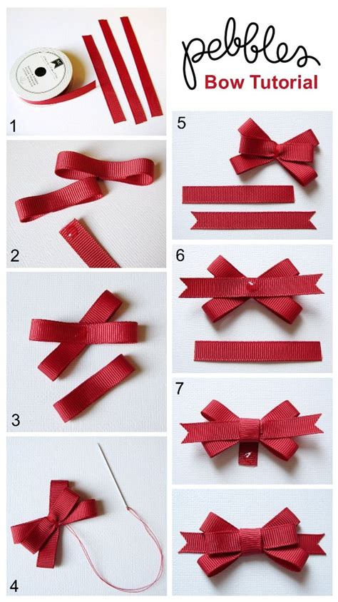How To Make A Ribbon Bow Out Of Paper - best 25 ribbon bows ideas on diy bow bow