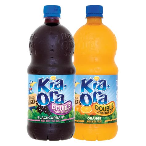Kia Ora Kia Ora Concentrate Orange Blackcurant 1ltr Supervalu