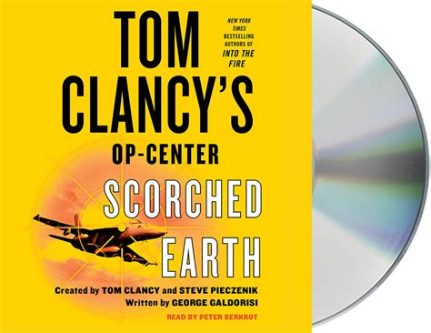 1000 images about tom clancy s books on tom tom clancy s op center scorched earth george galdorisi