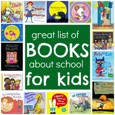 of school picture books back to school books