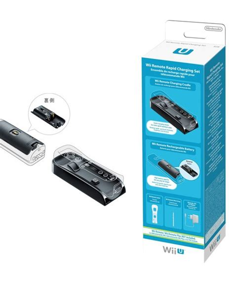 wii remote charger nintendo wii wii u remote rapid charging set