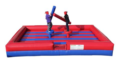blow up bounce house gladiator joust inflatable jousting arena interactive inflatables